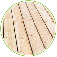 Timber Decking Example